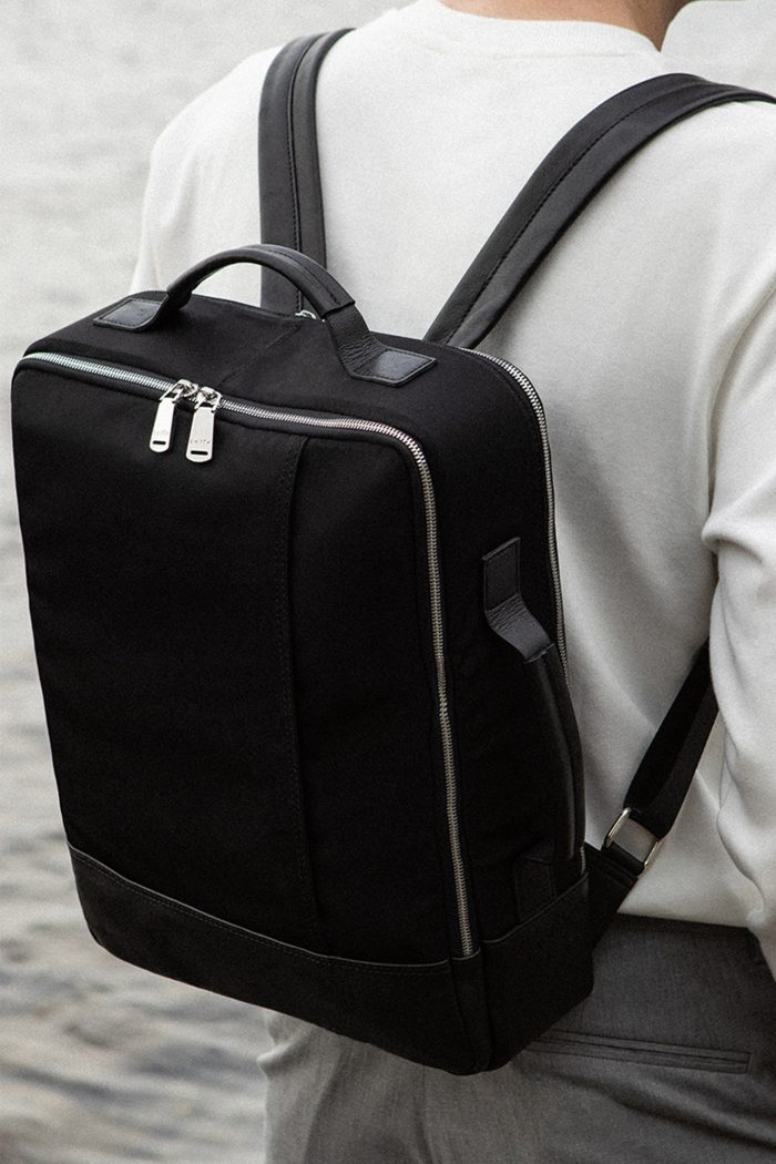 The Gallery Backpack in Black