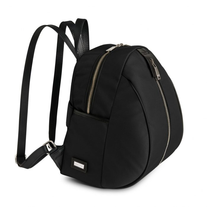 www.aoifelifestyle.com   aoife ® Lifestyle   Backpack Black Side View