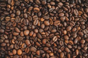 Coffee fabric for our bag lining