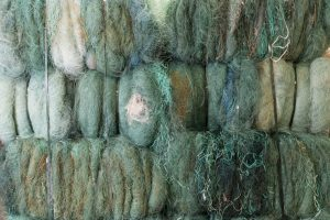 Ghost fishing nets , our bags are made from this resource