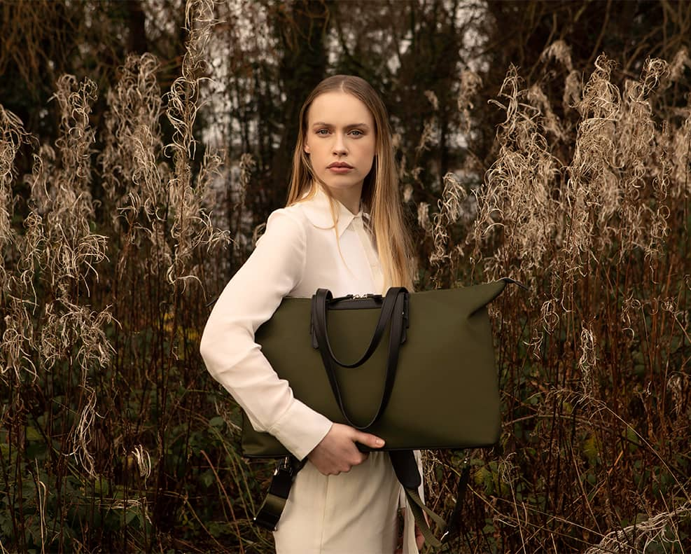 aoife ® The Gallery Collection   Made from Fishing Nets and Reclaimed Leathers